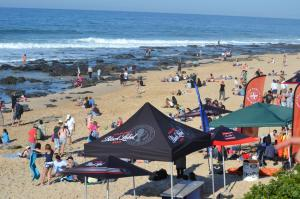 Zuschauer Contest Wellen Jeffreys Bay Strand Billabong
