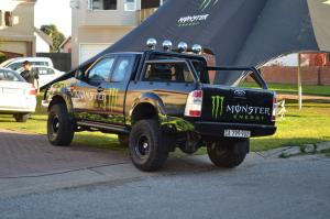 Monster Energy Pick Up Truck Sponsor Billabong Pro