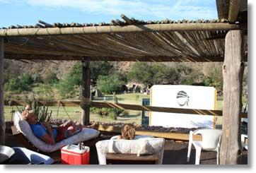 Parow Caravan Park - Bild Campingplatz am Breede River
