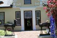 Weinfarmen in Somerset West an der False Bay von Cape Town South Africa