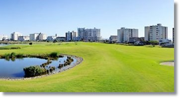 Golfplatz in Sea Point