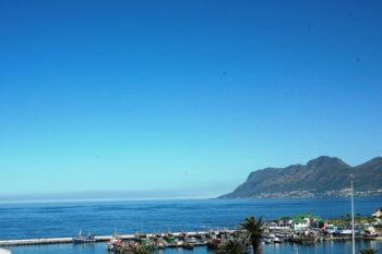 Fish Hoek Fischerort an der False Bay Suedafrika
