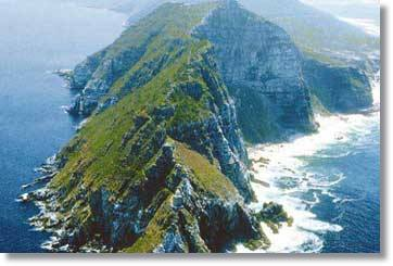 Viele Schiffwracks entlang Felsige Kaphalbinsel am Cape of Good Hope in Süd Afrika