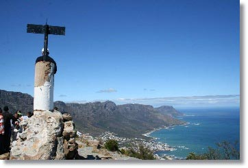Lion's Head ein Hausberg des Table Mountain in Cape Town South Africa