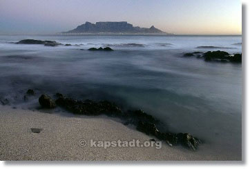 Geschichte des Tafelberges Geologie vom Table Mountain in Suedafrikas Mother City Kapstadt