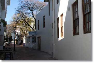 De Wet Alley - De Wet Gebou in Stellenbosch