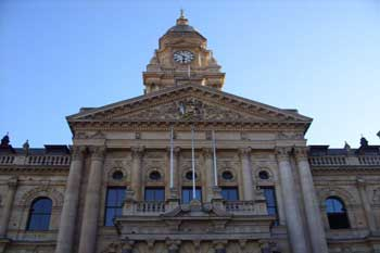 Blick von der Grand Parade - Cape Town City Hall